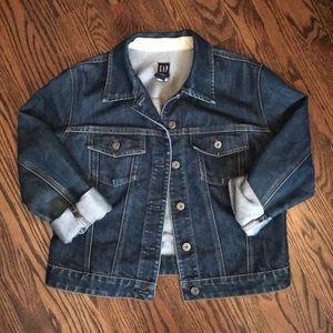 GAP dark wash Jean Jacket Size L